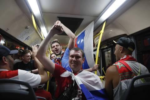 Uma primavera russa durante a Copa
