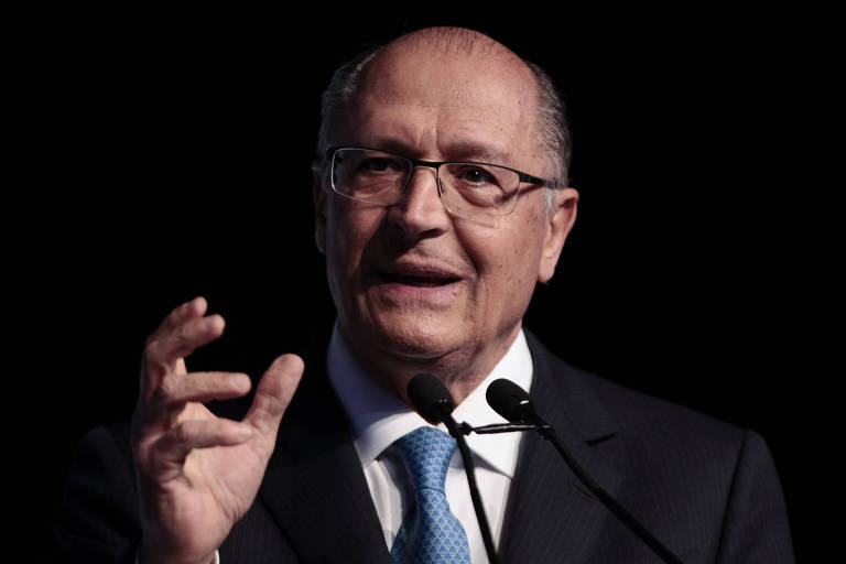 O pré-candidato Geraldo Alckmin (PSDB), que disse que só em agosto os eleitores resolverão em quem votar
