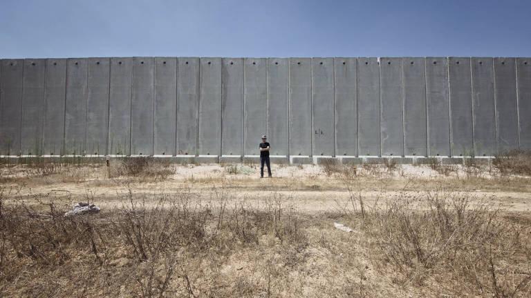 Cena do documentário O Muro
