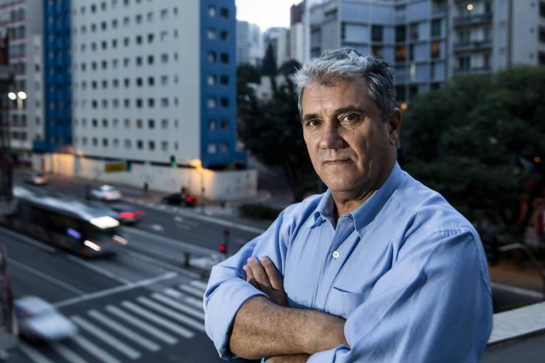 O sindicalista Toninho Ferreira, candidato do PSTU ao governo do estado de São Paulo