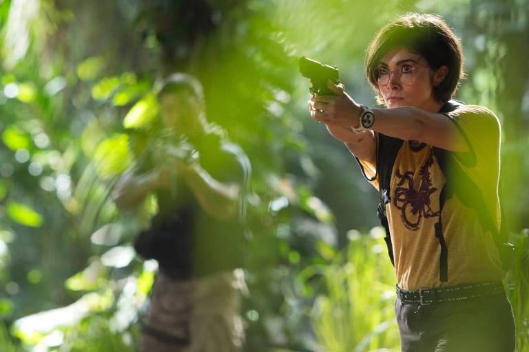 """Cena do filme """"Jurassic World - Reino Ameaçado"""""""