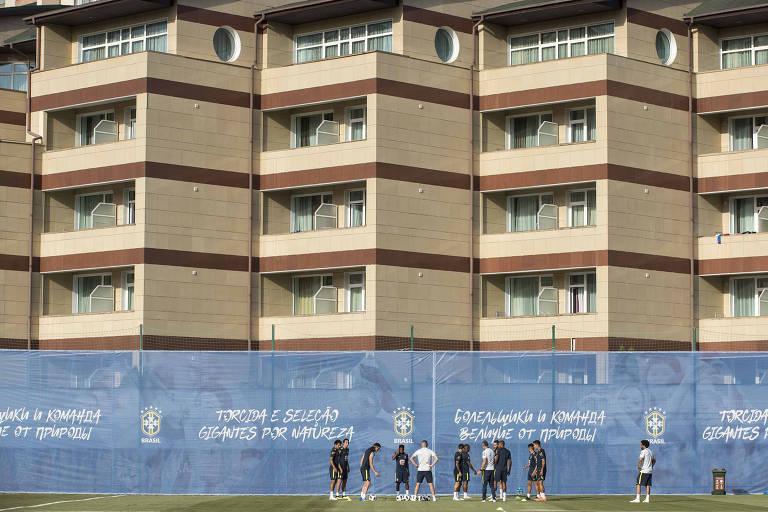 Hotel da Seleção Brasileira proíbe que vizinho façam fotos e vídeos