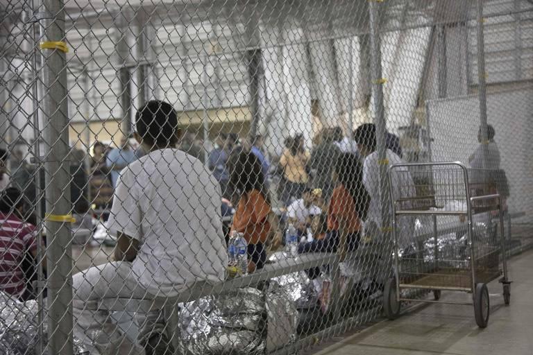 Centro para imigrantes no Texas
