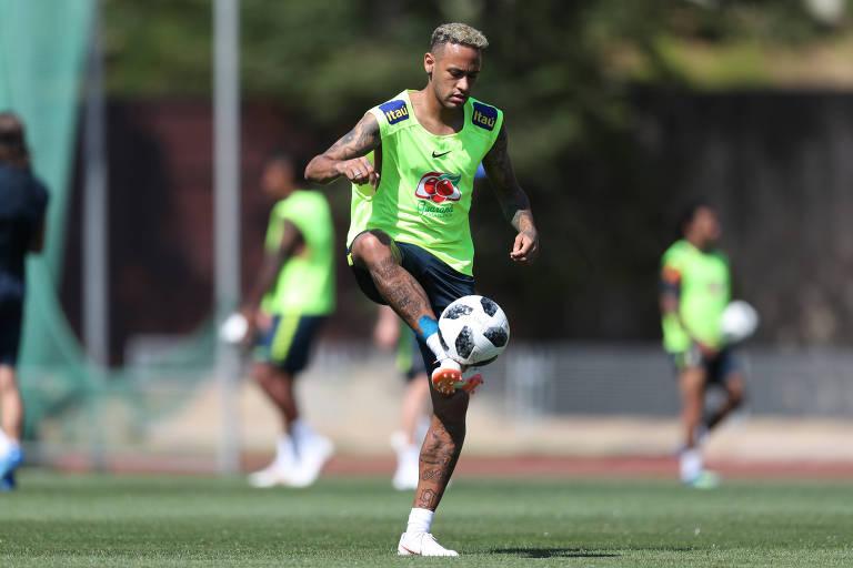 Neymar, da lesão no pé à recuperação para a Copa