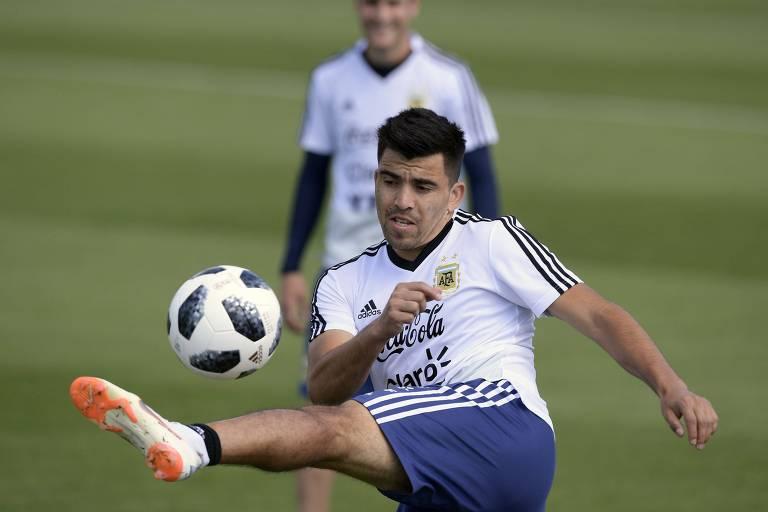 Marcos Acuña ganhará chance como titular da Argentina contra a Croácia