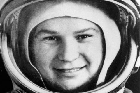 ORG XMIT: 515301_0.tif ** FILE ** Valentina Tereshkova, who became the first woman in space in 1963, is seen in a space suit in this undated file photo. Tereshkova's three-day flight, which started June 16, 1963, further strengthened the prestige of the Soviet space program after Yuri Gagarin became the first man in space in 1961. (AP Photo/ ITAR-TASS ) ** COMMERCIAL INTERNET OUT JAPAN OUT **