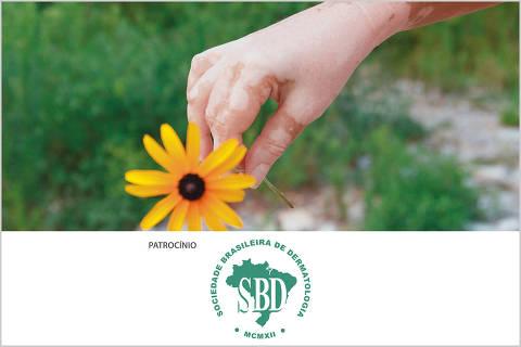 imagem com logos do Fórum saúde da pele