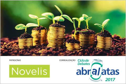 Imagem com logos do 2º Fórum Economia limpa