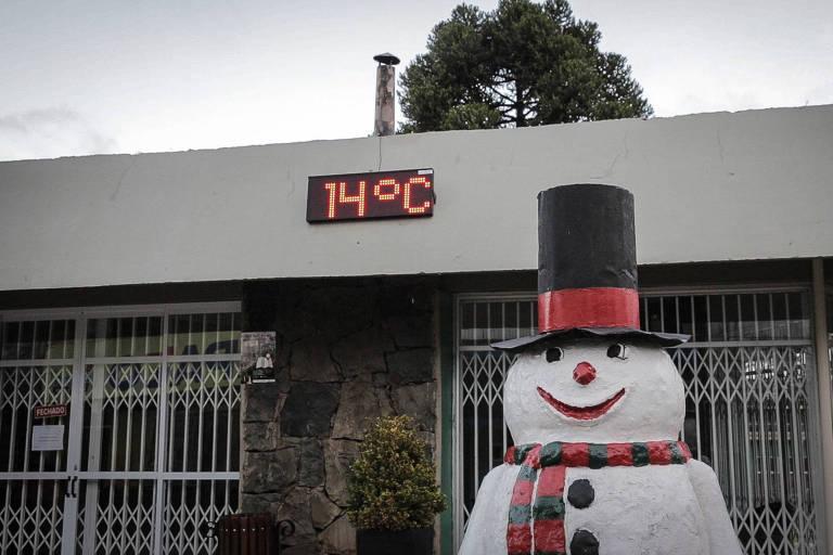 As cidades mais frias do Brasil