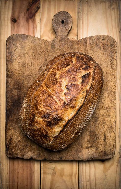 Passo a passo do pão