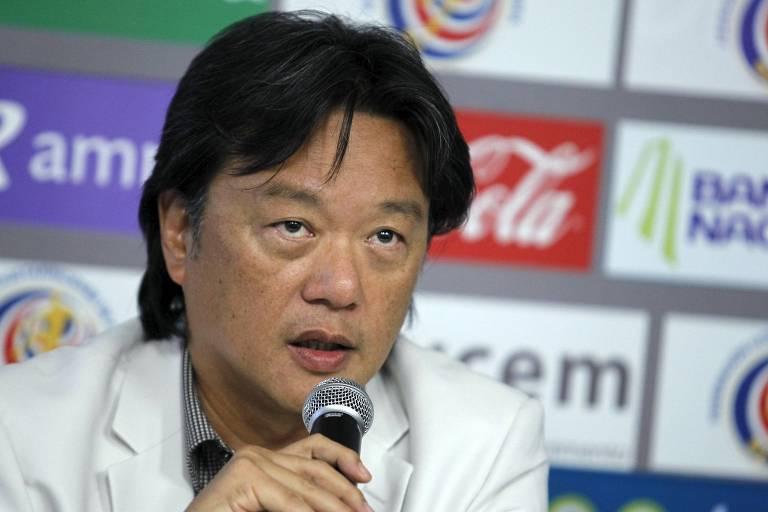 Eduardo Li, ex-presidente da Federação de Futebol da Costa Rica, em 2015