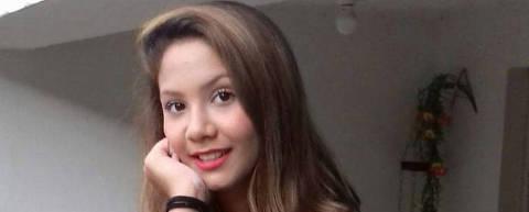A menina Vitória Gabrielly, assassinada em Araçariguama (SP) Foto Reprodução
