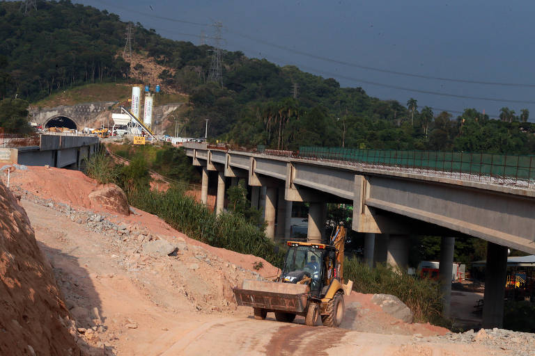 Obras do Rodoanel trecho norte sob suspeita de sobrepreço