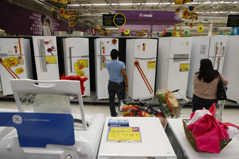 Crise elétrica e alta da inflação devem afetar vendas de eletrodomésticos