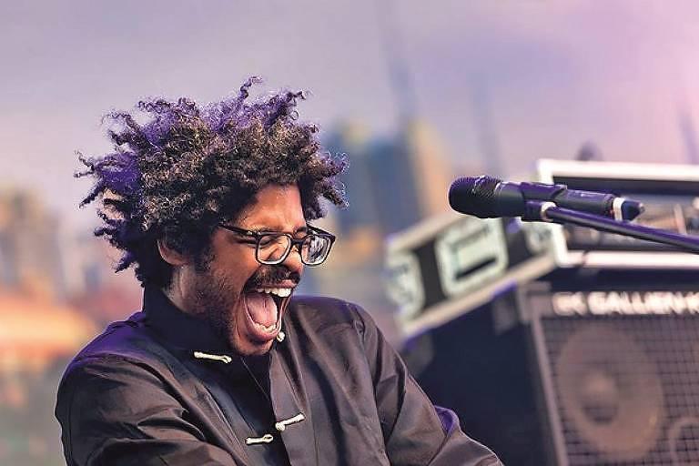 O músico maranhense Negro Leo