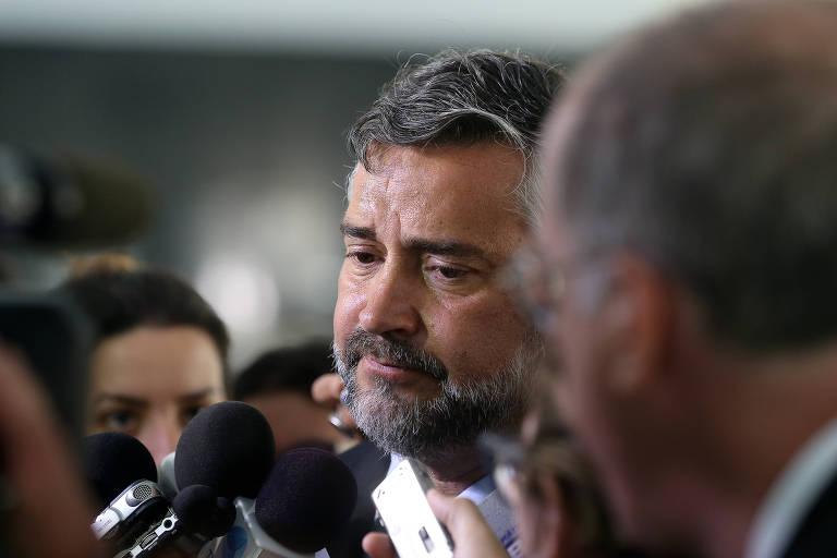 O líder do PT na Câmara, deputado Paulo Pimenta