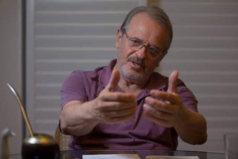 O ex-governador do Rio Grande do Sul Tarso Genro (PT), que acredita em um plano B do partido