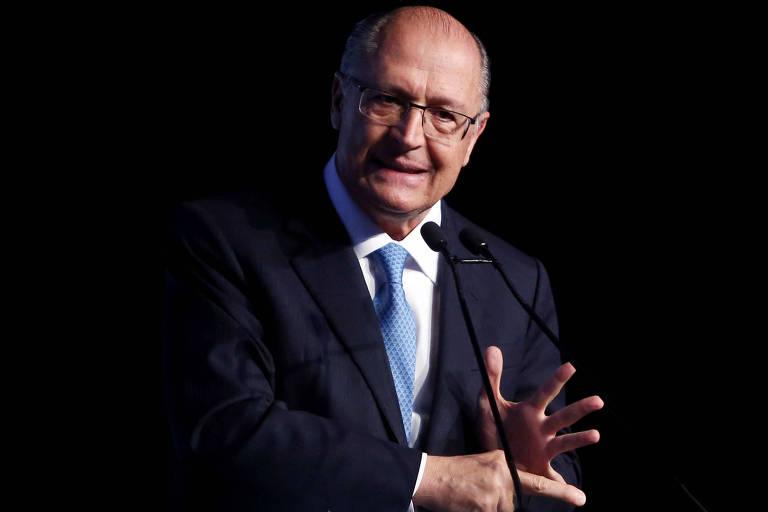 Geraldo Alckmin durante evento