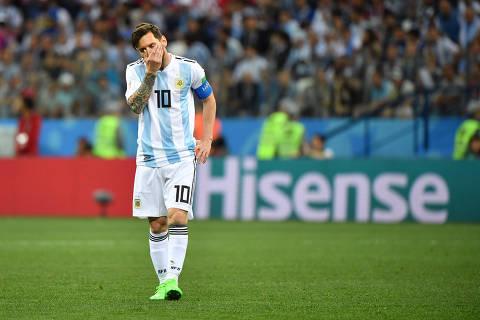 Lionel Messi no seu labirinto