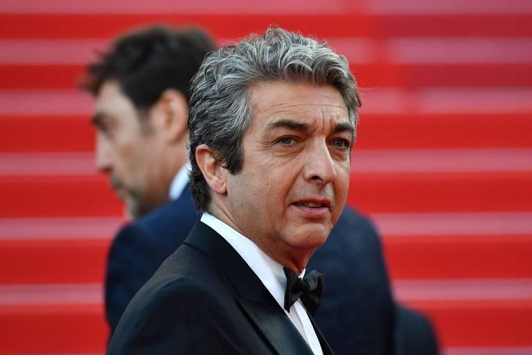 O ator argentino Ricardo Darín chega ao Festival de Cannes, na França