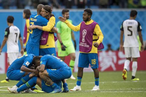 Gols nos acréscimos confirmam 2º tempo como ponto forte do Brasil