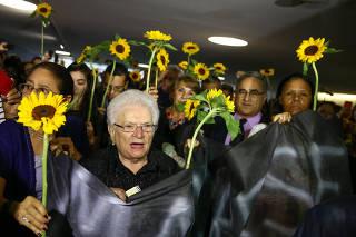 MARIELLE FRANCO / CAMARA / HOMENAGEM / INTERVENCAO / RJ / MAIA