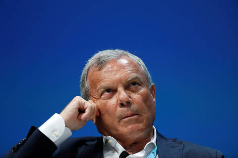 Sir Martin Sorrell attends a conference at the Cannes Lions International Festival of Creativity, in Cannes, France, June 22, 2018.  REUTERS/Eric Gaillard ORG XMIT: PAR212