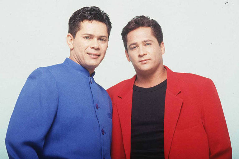 A dupla sertaneja Leandro & Leonardo