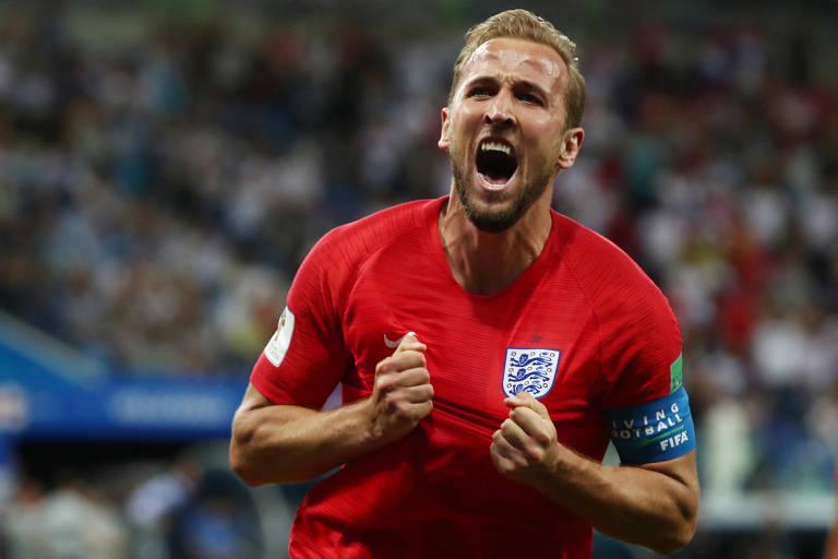 f36323d7b0 Harry Kane é o principal jogador e capitão da seleção inglesa na Copa do  Mundo