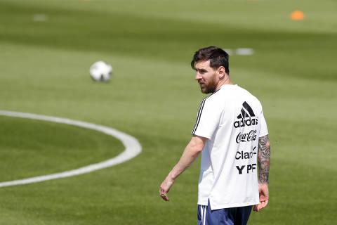 O desafio de Lionel Messi