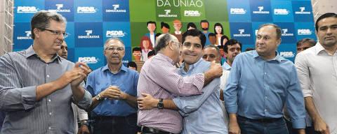 Encontro da União  DEM e PSDB com ACM Neto. Crédito: Angelo Pontes / Divulgação