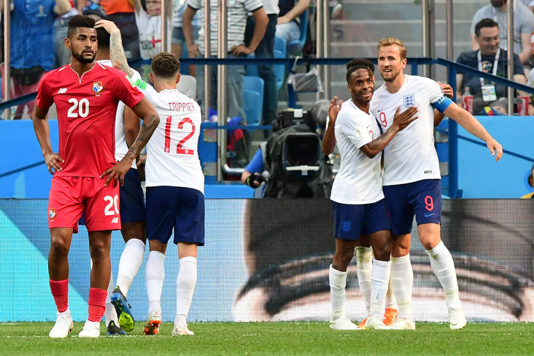 Inglaterra x Panamá