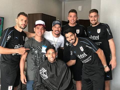 Cabeleireiro de Neymar muda visual de jogadores do Uruguai