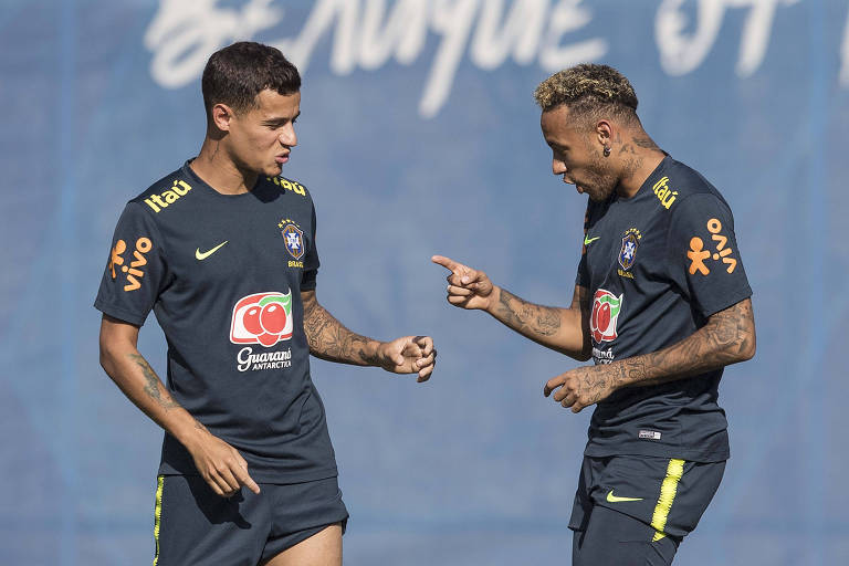 Treino da seleção brasileira em Sochi