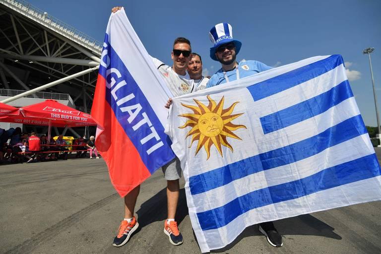 Rússia x Uruguai