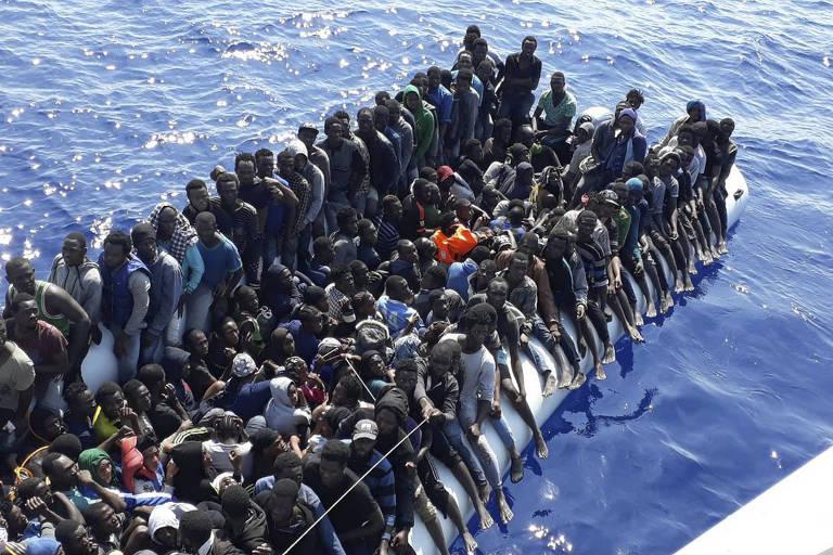 Libyan Coast Guard/Associated Press