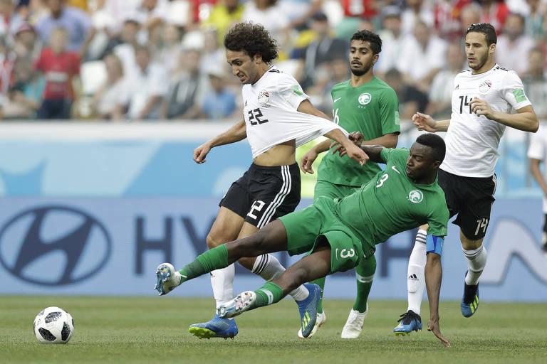 Arábia Saudita x Egito