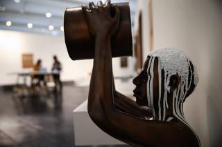 'Amnésia' (2015), escultura de Flávio Cerqueira