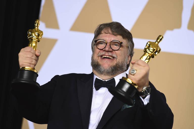 Guillermo del Toro recebe o Oscar por 'A Forma da Água'