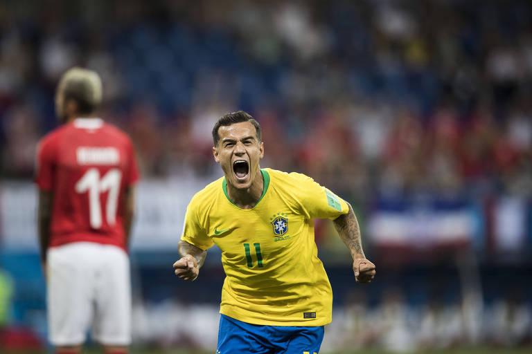 Philippe Coutinho na Copa