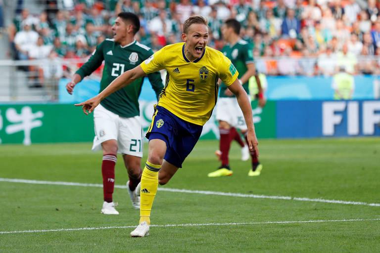 México x Suécia