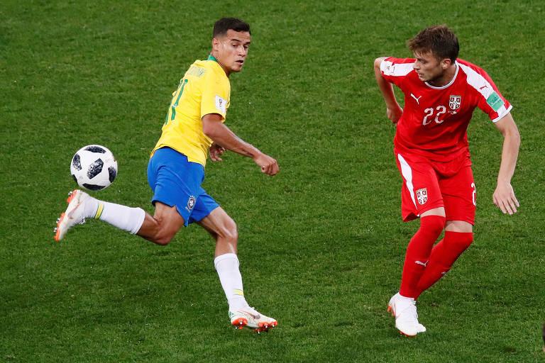 Sérvia x Brasil