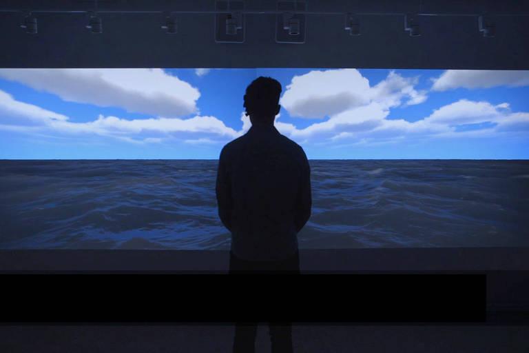 """""""You Are the Ocean"""", instalação interativa da turca Ozge Samanci que estará exibida no 19º File"""