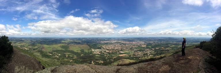Paisagem vista de montanha