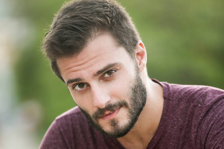 O ator Hugo Bonemer