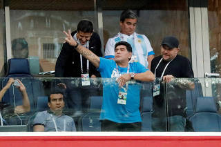 FILE PHOTO: World Cup - Group D - Nigeria vs Argentina
