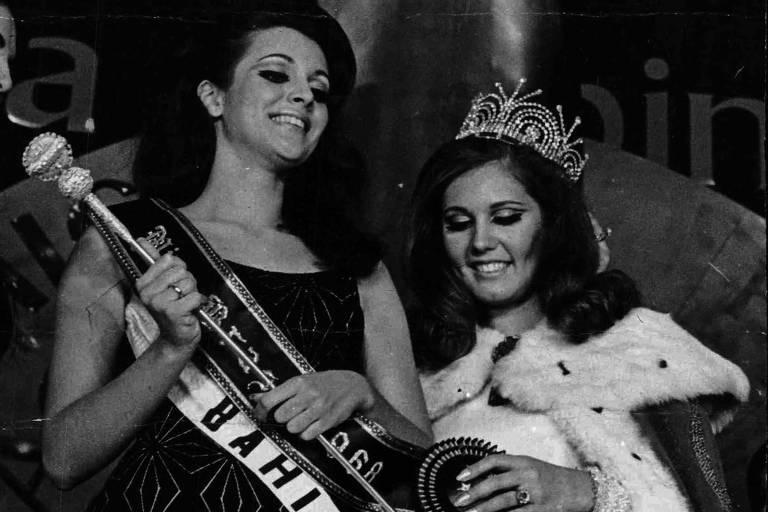 1968: Martha Vasconcellos vence concurso e é eleita a Miss Brasil de 1968