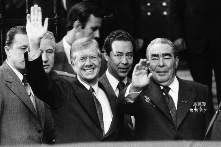 Encontro entre líderes de EUA e Rússia