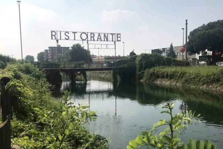 Foto de um rio