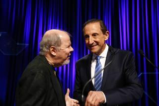 Eleições 2014 - Paulo Skaf no debate entre candidatos a governador